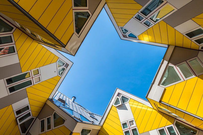 Kubushuizen in Rotterdam van Daan Kloeg