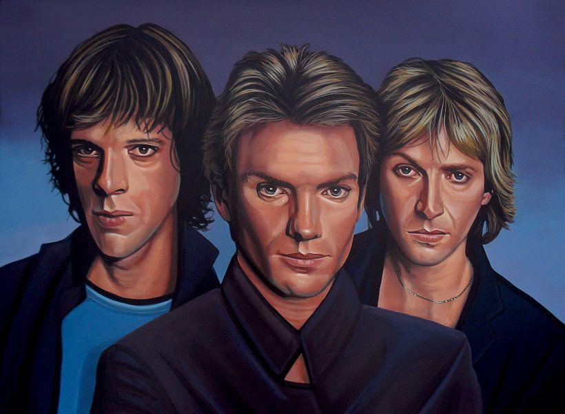 The Police Schilderij van Paul Meijering
