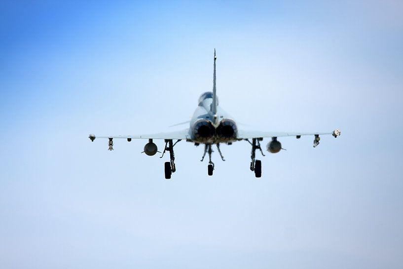 Eurofighter hitte van Jan Brons