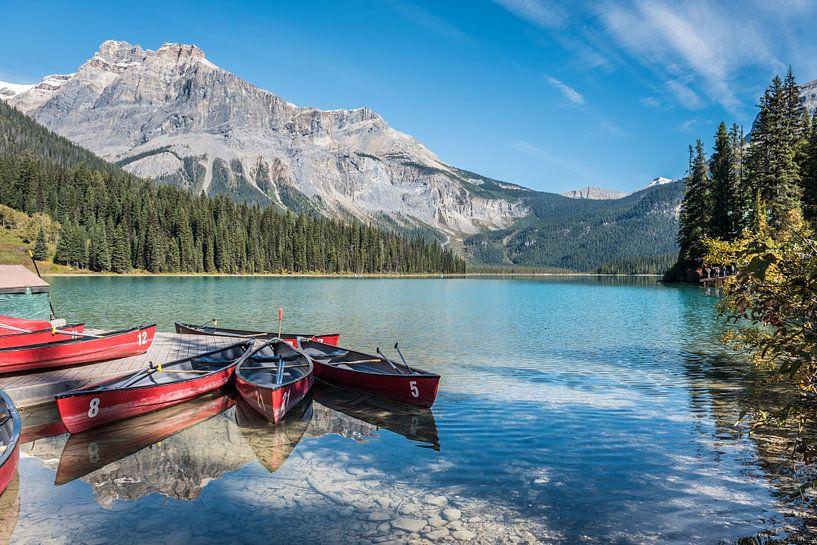 Boten in Canada van Trudy van der Werf