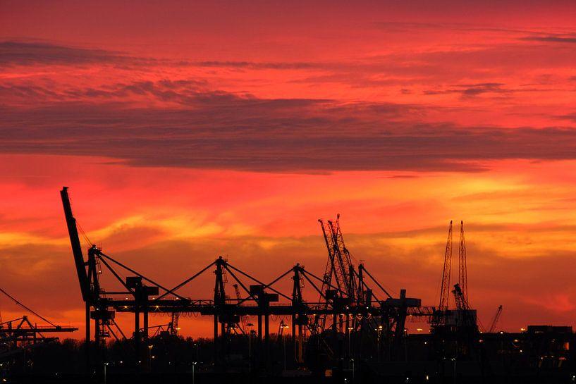 Industrial Sunset van Joris Vand