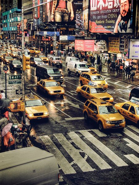 New York Taxis  van Rebel Ontwerp