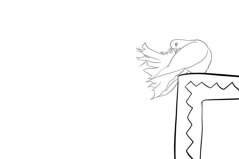 de koningin van de duiven van MishMash van Heukelom