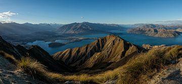 Sunset Roys Peak, NZ South Island van Pascal Sigrist - Landscape Photography