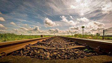 Treinspoor/rails van piet douma