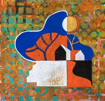 Huis en stilte 4 van Ariadna de Raadt