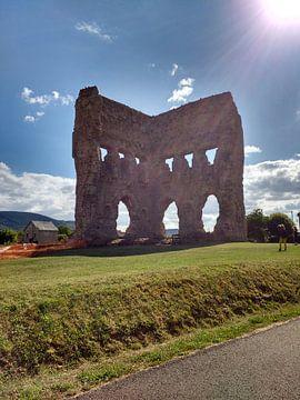 Romeinse amfitheater uit Italie  overgebleven uit de Romeinse tijd van Wilbert Van Veldhuizen