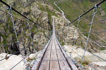 Trift brug Zwitserland van Dennis van de Water