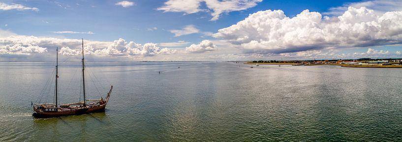Welkom op Texel - Haven Oudeschild van Texel360Fotografie Richard Heerschap