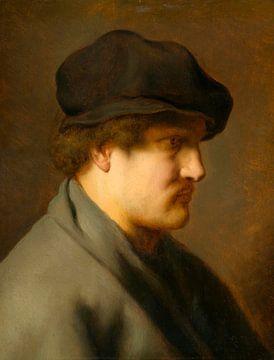 Junger Mann mit Baskenmütze, Jan Lievens