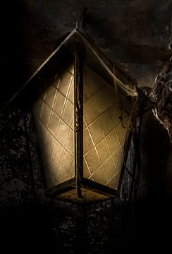 Antieke lantaarn van Olivier Van Cauwelaert
