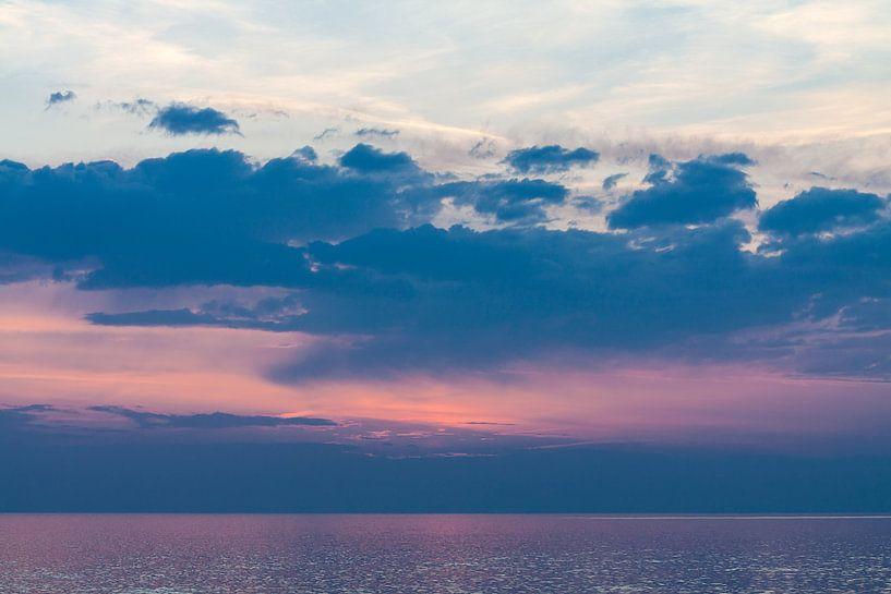 Abends an der Küste der Ostsee von Rico Ködder