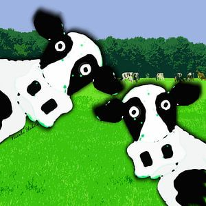 Gekke koeien van kunstenares Nicole Habets