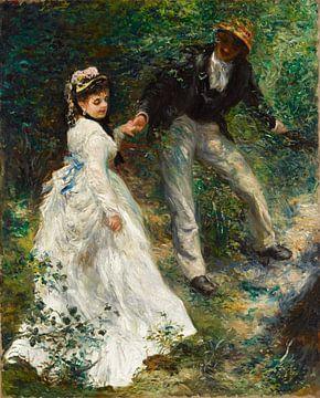Renoir, Die Promenade (1870)