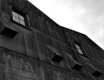 Architectuur in Oamaru, Nieuw-Zeeland van J V