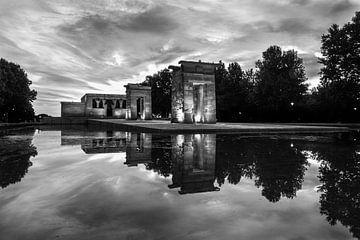 Tempel van Debod - Madrid - 4 van Nuance Beeld