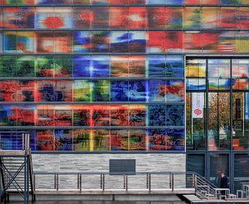 Glaswand 2 van Gerard de Ridder