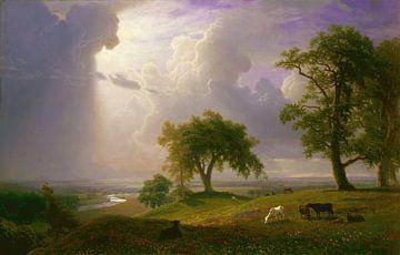 Albert Bierstadt. California Spring sur