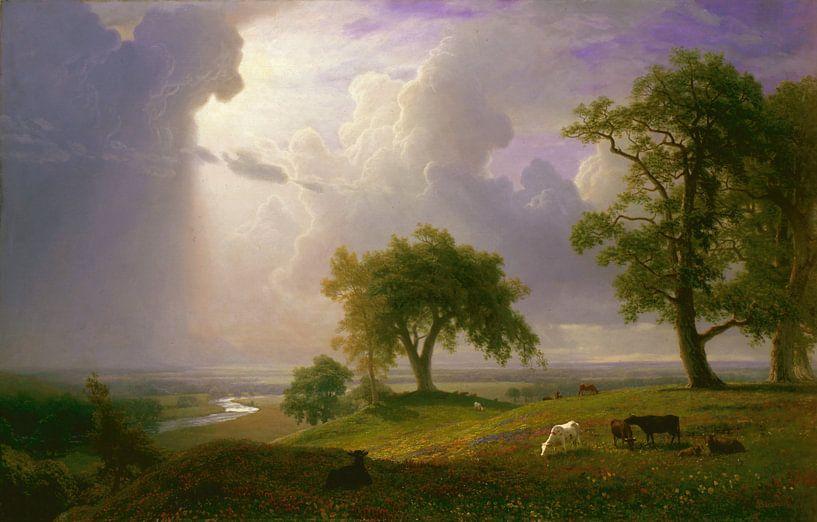 Albert Bierstadt. California Spring van 1000 Schilderijen