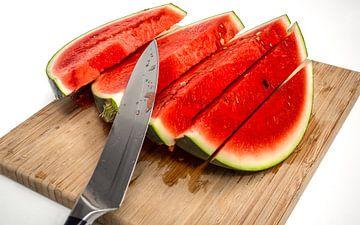 Verse watermeloen van