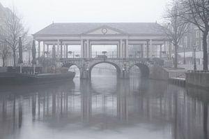 De Koornbrug in Leiden van