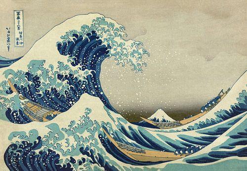 De grote golf van Kanagawa, Hokusai