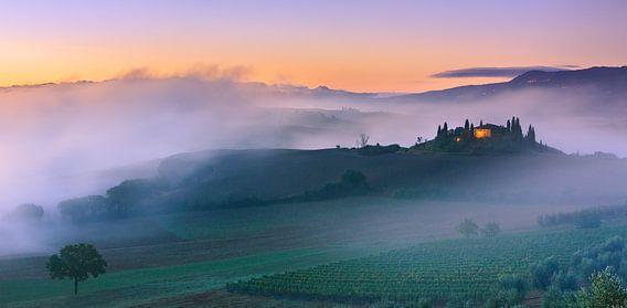 Podere Belvedere, Val d'Orcia, Toscane, Italië