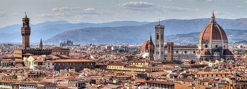 Florenz Panorama von Dennis van de Water