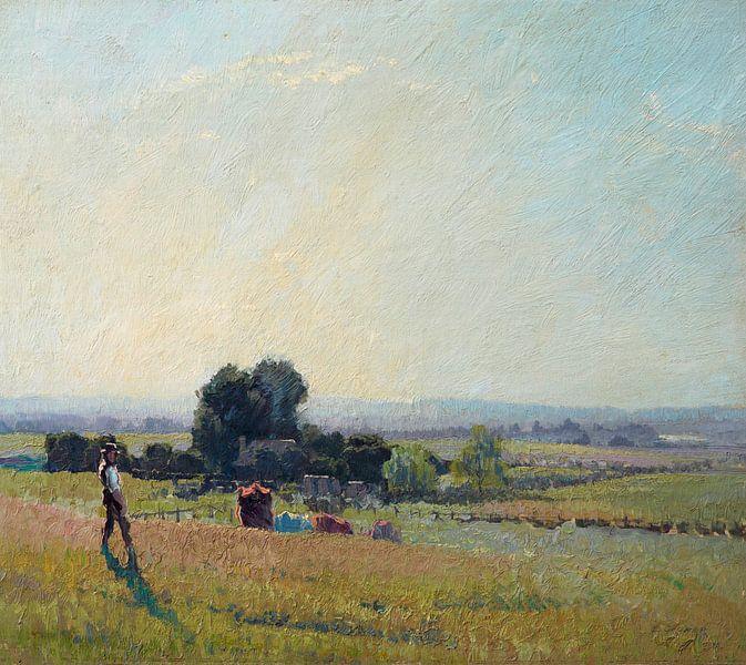 Morgenlicht, Elioth Gruner von Meesterlijcke Meesters