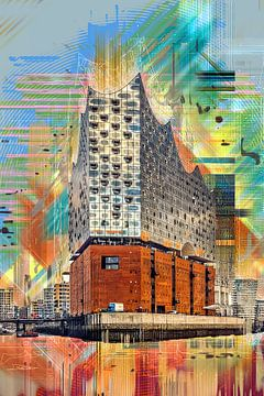 Elbphilharmonie Hamburg van Peter Roder