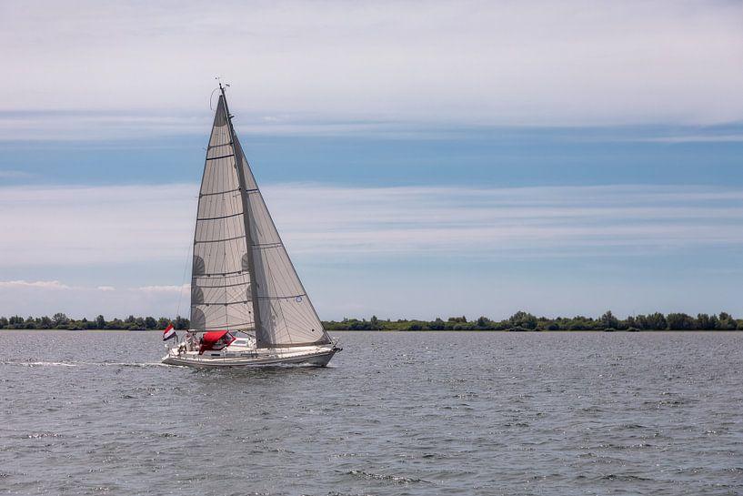 Zeilen op het Grevelingenmeer van Bram van Broekhoven
