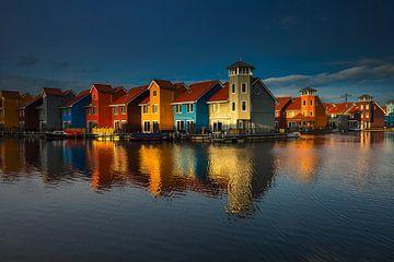 Reitdiephaven, Groningen von Ton Drijfhamer