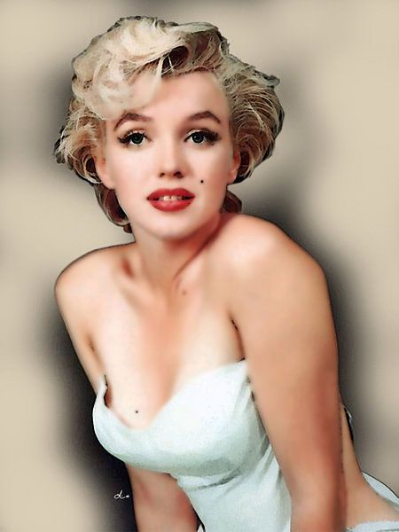 Marilyn Monroe       Porträt von Dirk H. Wendt