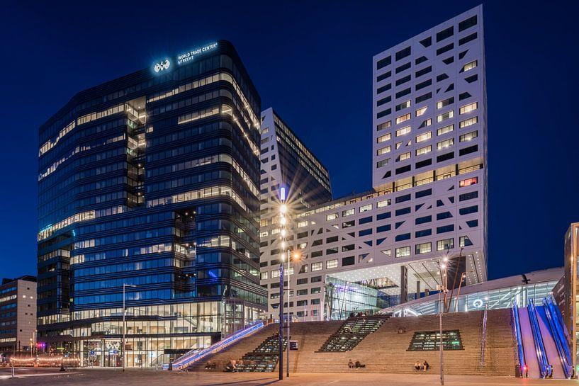 Das WTC Utrecht und das Stadtbüro Utrecht befinden sich direkt neben dem Hauptbahnhof von Utrecht. von John Verbruggen