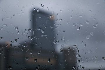 Rainy Rotterdam van Willem-Jan Trijssenaar