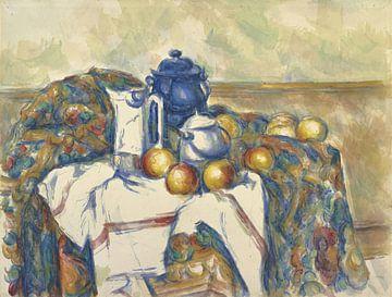 Nature morte au pot bleu, Paul Cézanne
