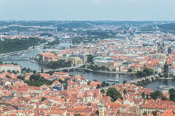 Die Stadt Prag von oben sur Melvin Fotografie