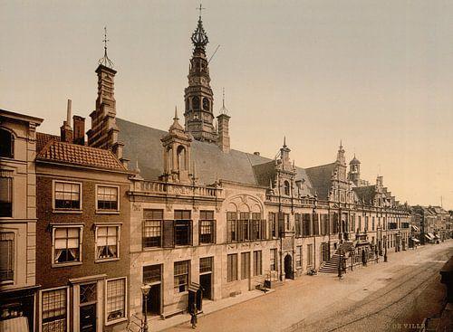Stadhuis, Leiden van Vintage Afbeeldingen