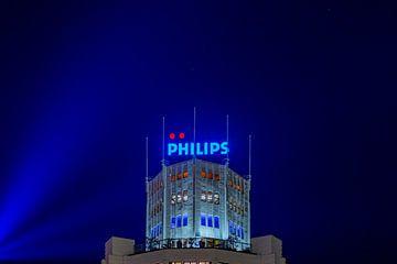 Lichttoren Eindhoven - GLOW 2020 van Noud de Greef