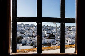 looking through the window van Leticia Spruyt