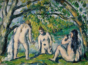 Cézanne, Drei Badende (ca. 1876-1877) von Atelier Liesjes