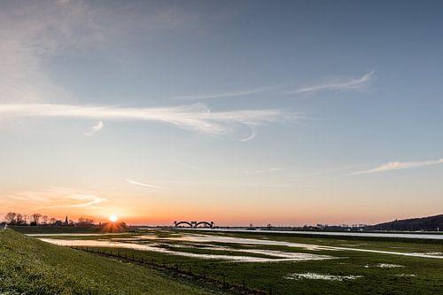 Sonnenuntergang in Driel