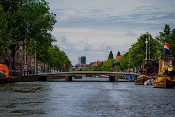 Pauwbrug Leiden, Oude Singel / Hooigracht van Leanne lovink