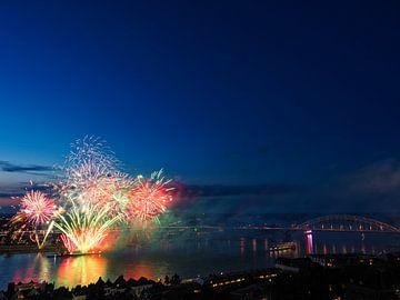 Feuerwerk Vierdaagsefeesten von Lex Schulte