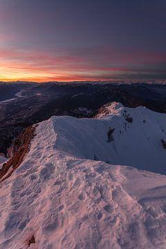 Sonnenuntergang in Kärnten von Thomas Weber