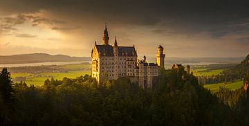 Schloss Neuschwanstein von Wojciech Kruczynski