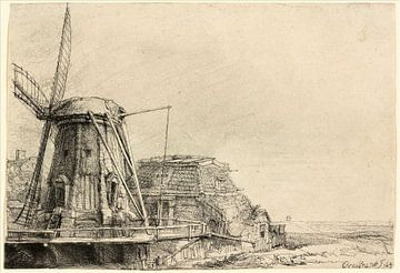 Rembrandt van Rijn, der Windmühle