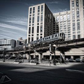 Chicago Subway von VanEis Fotografie
