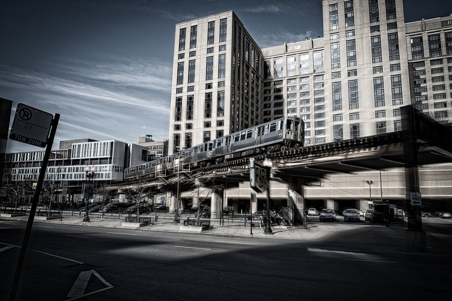 Chicago Subway van VanEis Fotografie