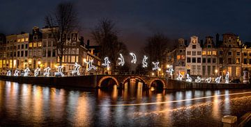 Amsterdam Lightfestival Gracht van shoott photography